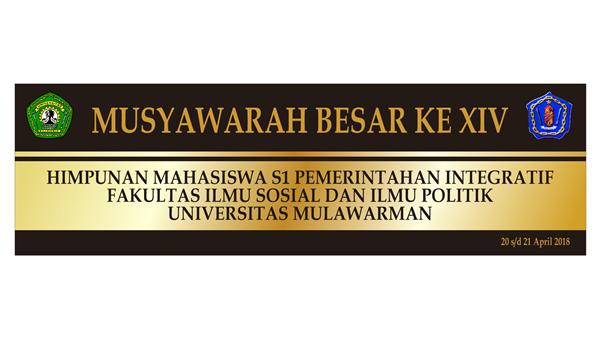 MUSYAWARAH BESAR S1 PIN KE-XIV
